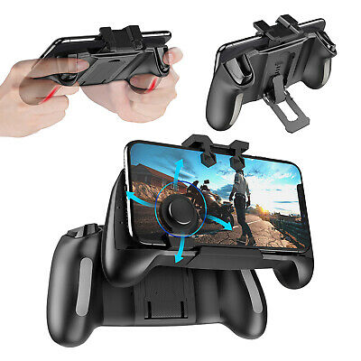Mobile Gaming Trigger Controller Gamepad with Cooling Fan for PUBG iOS Android