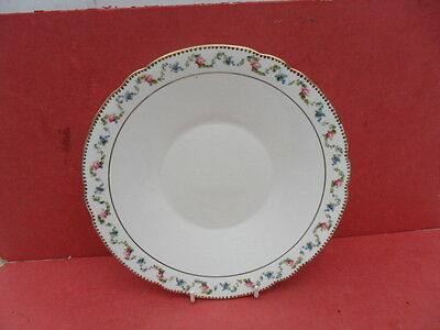 Shelley, 10874 Garland/Floral Design Serving Plate or Cake Plate REDUCED!