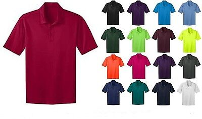 Port Authority Mens Silk Touch Dri-Fit Polo Shirt NEW Size XS-4XL GOLF K540