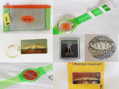 Millennium Dome 2000 Collect Watches Magnets Keyrings Tins Pencil Cases Badges