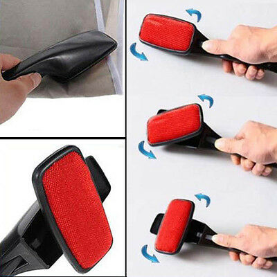 Magic Swivel Pet Hair Remover Lint Dust Brush Clothing Cloth Dry Cleaning Hot HG