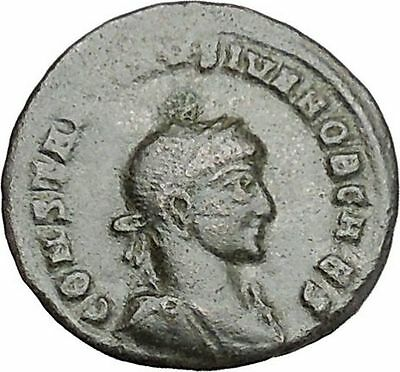 Constantine II Jr Constantine the Great  son Ancient  Roman Coin Victory  i41215