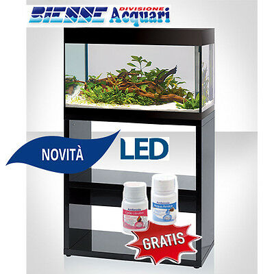 Acquario Novita' Led Askoll Pure L Completo Accessoriato  Con Supporto