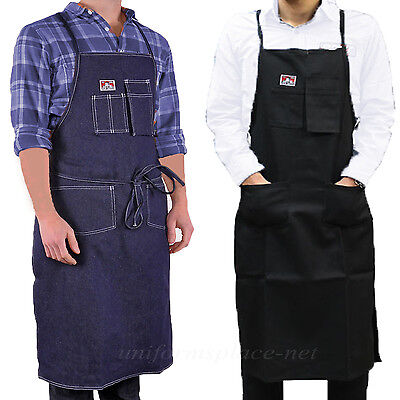 Ben Davis Apron Adult's Machanic, Printers, Split Legs Teamsters Aprons One Size