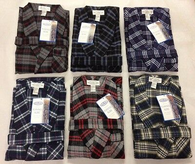 New Acura Men's FLANNEL ROBE, Multi Color's,Size S-M-L-XL-2X-3X!GREAT FOR A GIFT