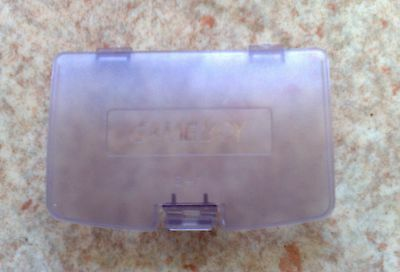 Cache Pile Violet transparent - NEUF - pour Game Boy Color - Gameboy GBC - Cover