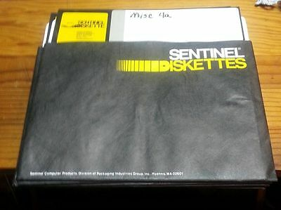 """Vintage Sentinel 8"""" Floppy Disks used Unknown contents."""