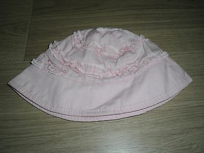 **NEW** PRETTY MINI MODE SUN HAT 3-6 months