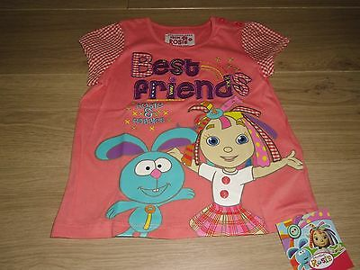 **BNWT** MARKS & SPENCER ROSIE & RAGGIES TOP / T-SHIRT ~ AGE 1½- 2 years
