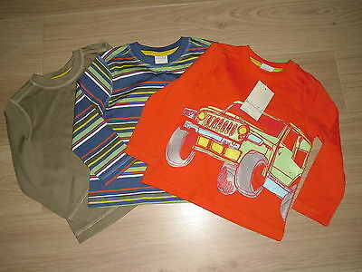 **BNWT** MINI CLUB at BOOTS PACK of 3 TOPS ~ 100% COTTON ~ 1½- 2 years