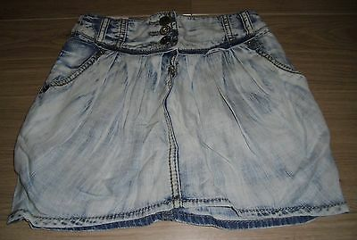 **BNWT** NEXT SKIRT with ADJUSTABLE WAIST ~ BLEACHED EFFECT ~ AGE 4