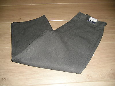 **BNWT** NEXT TEFLON GREY SCHOOL TROUSERS & BELT ~ AGE 4 Plus
