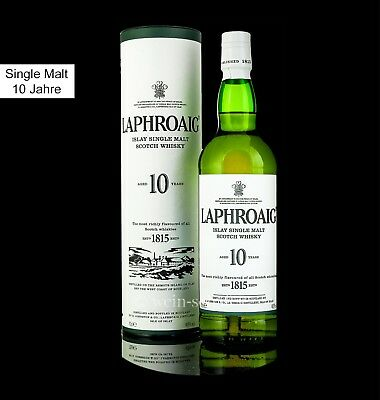 LAPHROAIG 10 Jahre Islay Single Malt Scotch Whisky Schottland SFWSC Doppel Gold