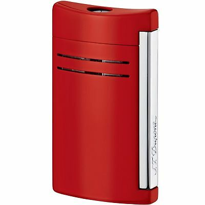S.T. Dupont MaxiJet Lighter, Fiery Red, 20138N (020138N), New In Box
