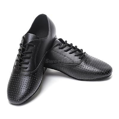 Genuine Leather Hell 2.5cm Men Ballroom Dancing Modern Dance Latin Shoes SWTG