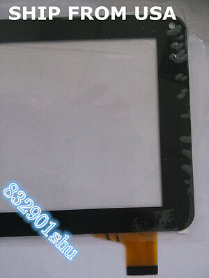 "USA- 7"" Touch Screen Digitizer Glass For RCA RCT6378W2 TPT-070-179F Tablet PC 8H"