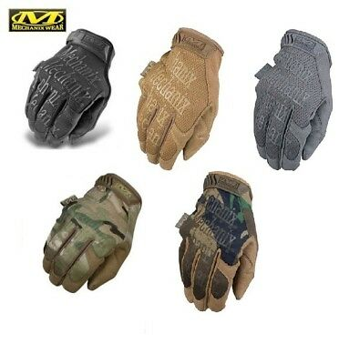 Mechanix Wear Original Work & Duty Gloves-Multicam-Coyote-Covert Black-Woodland