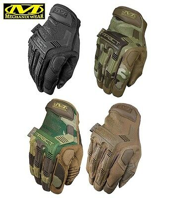 Mechanix Wear M-Pact Work, Duty, Utility Gloves-Multicam-Coyote-Black-Woodland