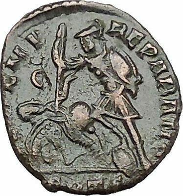 CONSTANTIUS II Constantine the Great son Ancient Roman Coin Battle Horse  i41165