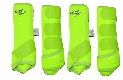 Profesional's Choice SMB Elite Value 4 Pack Yellow Lime Small S Prof Pro Boots
