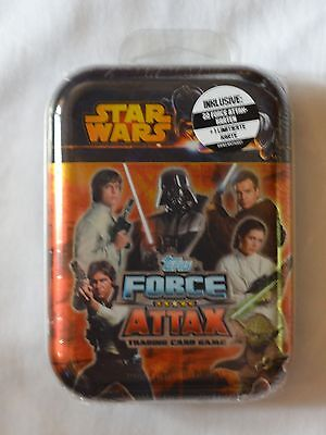 Star Wars - Force Attax Movie Cards 3 Mini-Tin -22 Karten + 1 Limitierte Karte