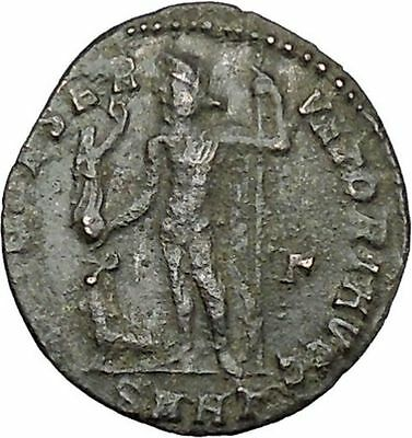 Licinius I Constantine The Great enemy 313AD Ancient Roman Coin Jupiter  i41182