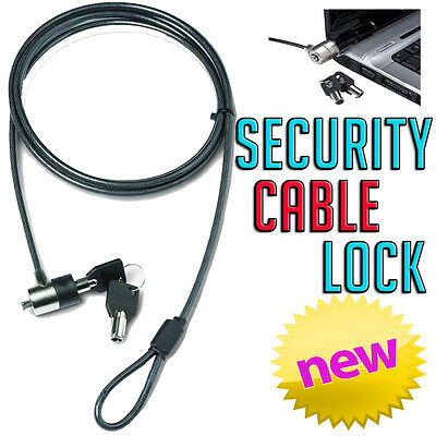 Dual Key Strong Kensington Slot Cable Security Lock HP Sony Toshiba Laptop PC