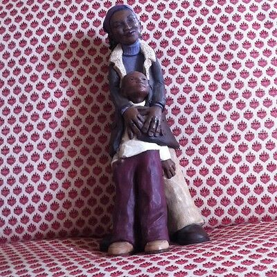 Willitts Mother & Son Figurine One Of A Kind Nice Detailed Sc 06