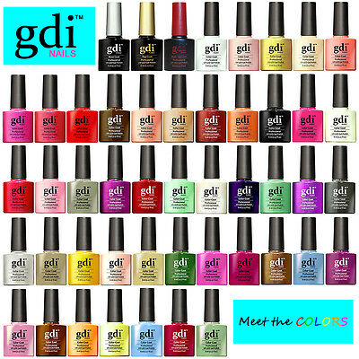 GDi Nails UV LED Soak Off Gel Nail Polish Varnish