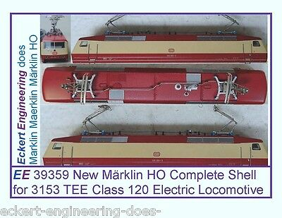 EE 39359 New Märklin HO Complete Shell for 3153 TEE Class 120 Electric Loco