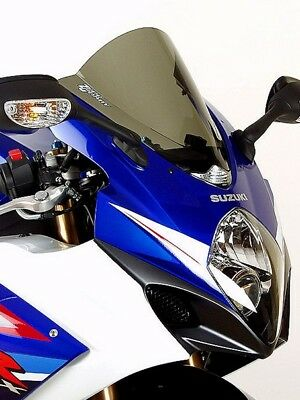 Zero Gravity Double Bubble Windscreen Smoke For Suzuki GSXR 1000 07-08