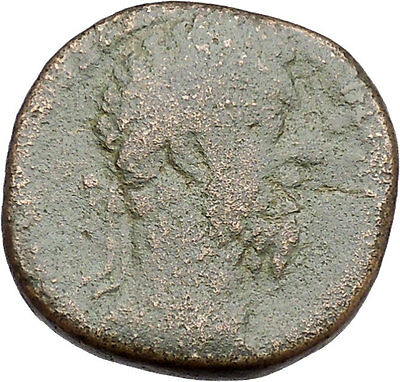 Commodus son of Marcus Aurelius RARE Sestertius Big Ancient  Roman Coin  i41292