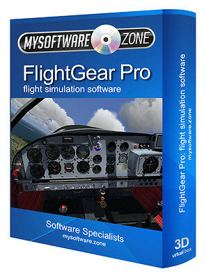 FLIGHT GEAR SIMULATOR for Microsoft Windows (X Gold Edition