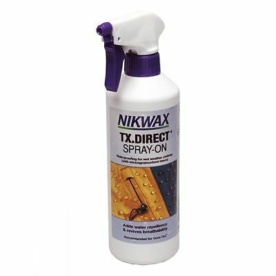 Nikwax TX.Direct Spray-On 300ml Waterproofing For Wet Weather Clothing