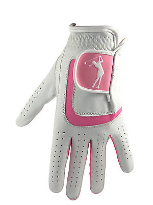 Ladies 100% Cabretta Leather Golf Glove