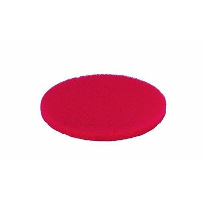 "5 Pk 3M 17"" Red Polyester 500 RPM Wet Or Dry Buffer Buffing Pad 08392"