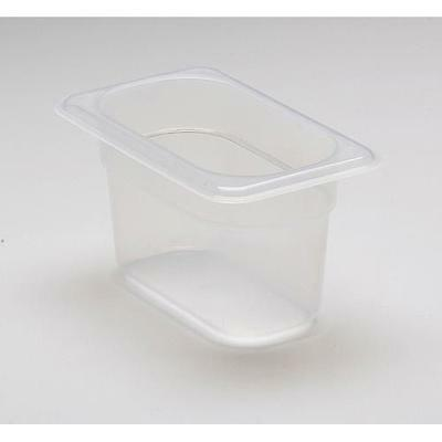 Cambro - 94PP190 - 1/9 Size 4 in Deep Food Pan