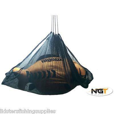 New Fishing Black Weighing Sling Carp Coarse Pike NGT fishing tackle