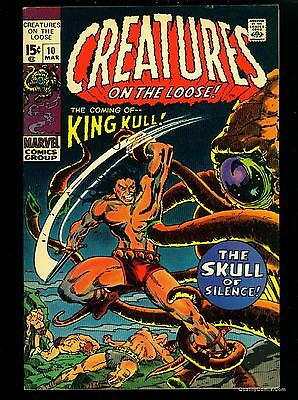 Creatures on the Loose #10 VF 8.0  Tongie Farm Collection