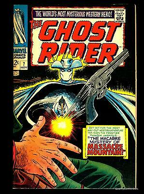 Ghost Rider #7 VF+ 8.5  Tongie Farm Collection  Marvel Comics