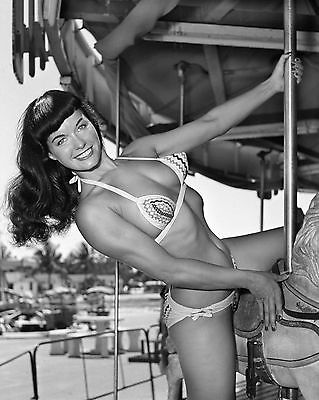 Bettie Page 8 x 10 GLOSSY Photo Picture
