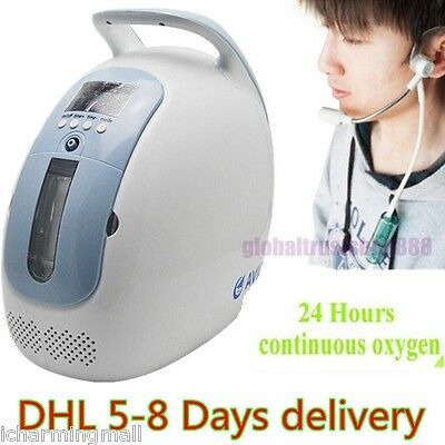 NEW+ Free Pulse Oximeter Oxygen Generator Concentrator O2 OX Generating Machine