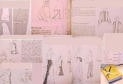 HT DESIGN CLOTHES:MkUrOw PATTERN:MAKING DRESS DRAFTING DESIGNING FASHION IN. FIT
