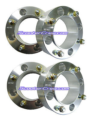 """4 - 2"""" 4x137 Wheel Spacers Canam Maverick Commander outlander 500 650 Can am NEW"""