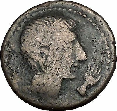 CASTULO Spain 2nd Century BC Male Sphinx Authentic Ancient Greek Coin  i41566