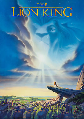 The Lion King (1994) V5 - A1/A2 Poster **BUY ANY 2 AND GET 1 FREE OFFER**