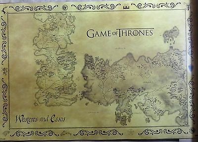 Game Of Thrones-Westeros & Esso's-Licensed POSTER-90cm x 60cm-Brand New