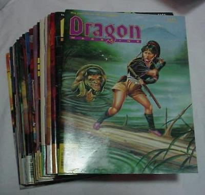 Excellant Lot Of 20 Complete 151 Thur 170 Dragon Magazines  Dungeons Ad&d