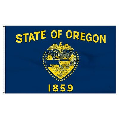 3x5 State of Oregon Flag 3'x5' Banner Double Sided Super Polyester