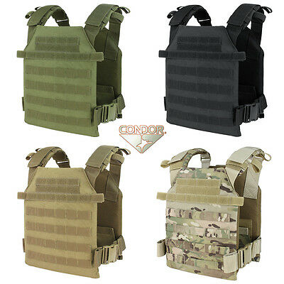 Condor 201042 Tactical MOLLE Sentry Lightweight Plate Carrier Vest All Colors